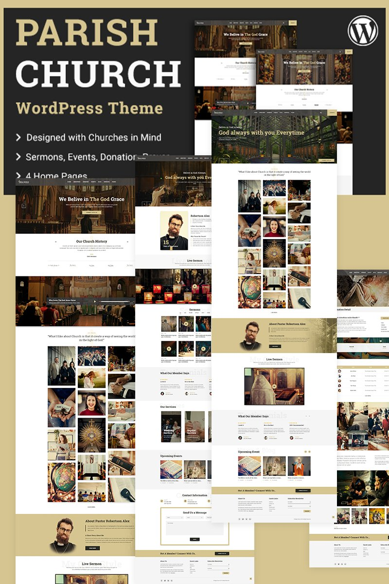 Parish | Church WordPress Theme