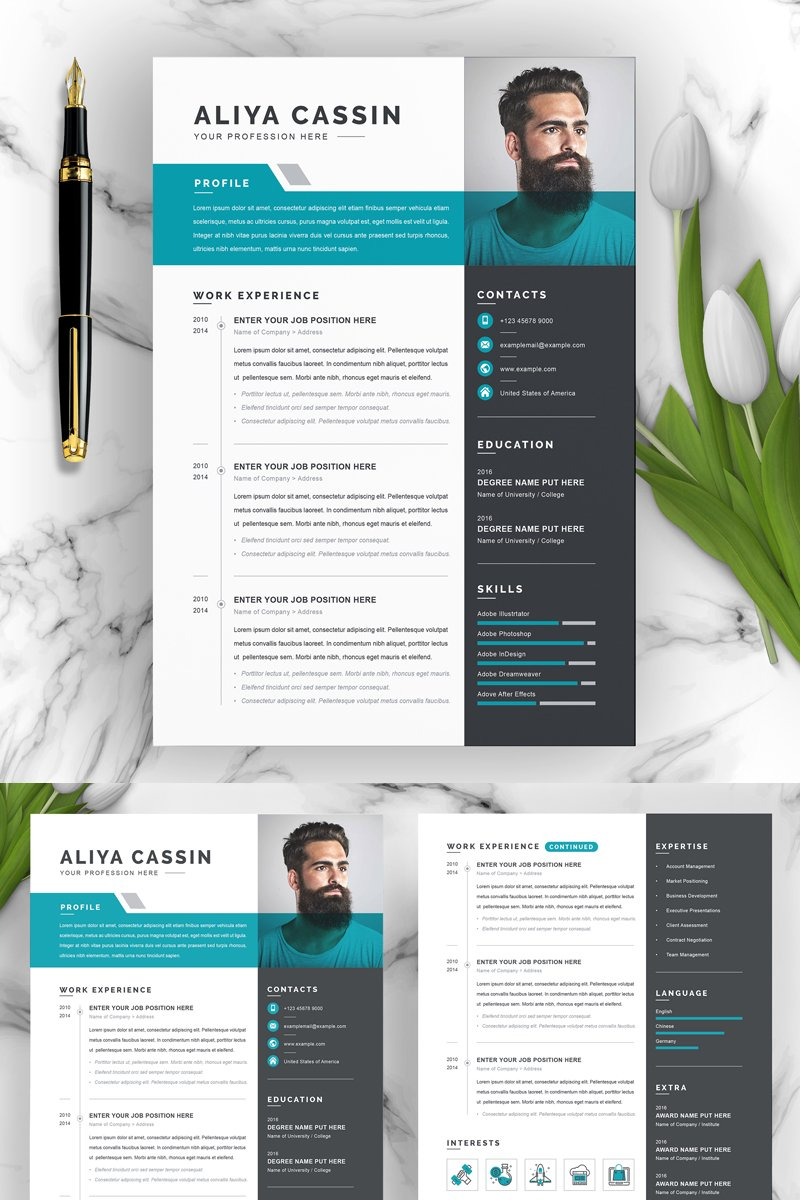 Aliya Resume Template