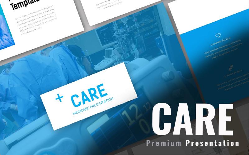 """""""Care Medical"""" Responsive Google Slides №97939"""