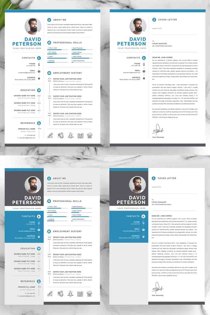 For David Resume Template