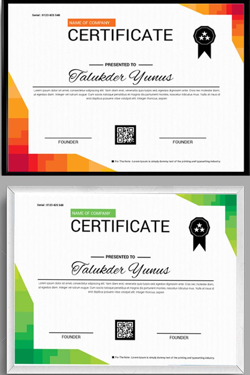 """Plantilla De Certificado """"Identity page"""" #97960"""