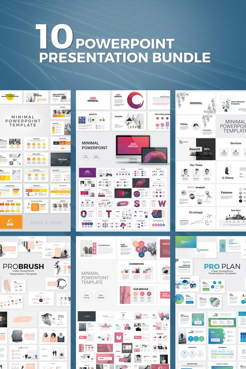 """Presentation Bundle"" PowerPoint 模板 #97930"