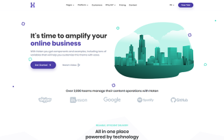 Hotan - Multipurpose HTML for Saas & Agency Website Template