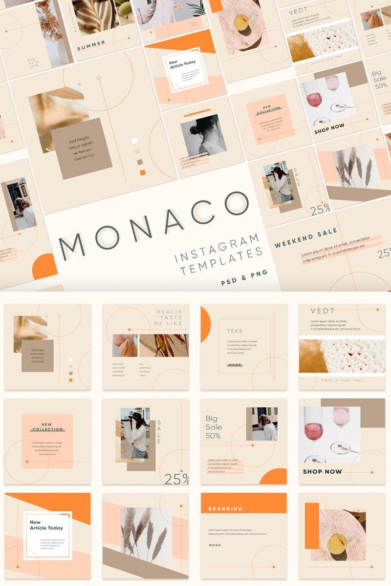 MONACO Social Media - screenshot