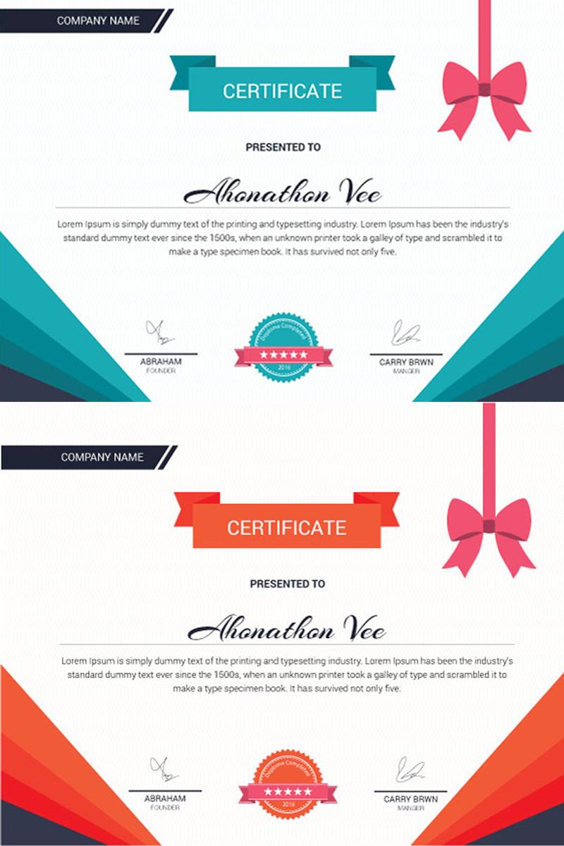 """Plantilla De Certificado """"Identity page"""" #98067"""