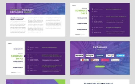 Conference - Event Seminar Business PowerPoint template PowerPoint Template