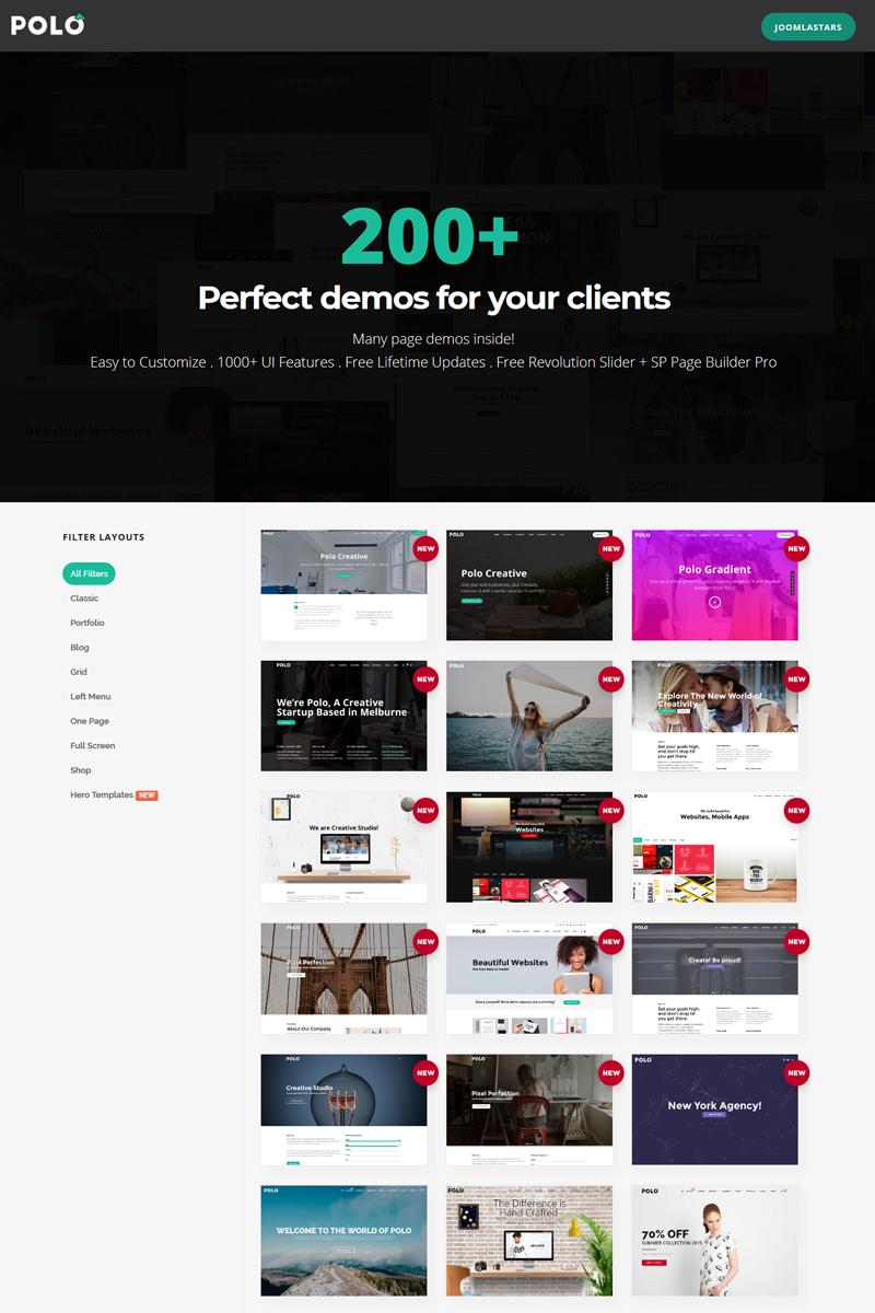 Polo - Responsive Multipurpose Joomla Template - screenshot