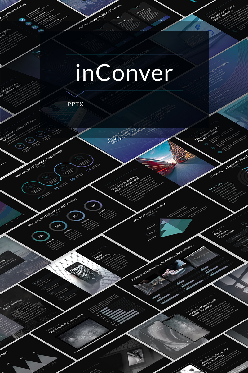 """PowerPoint Vorlage namens """"inConver"""" #98149"""