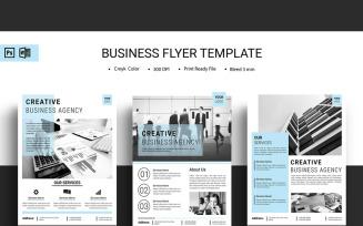 Sistec Minimal Business Flyer - Corporate Identity Template