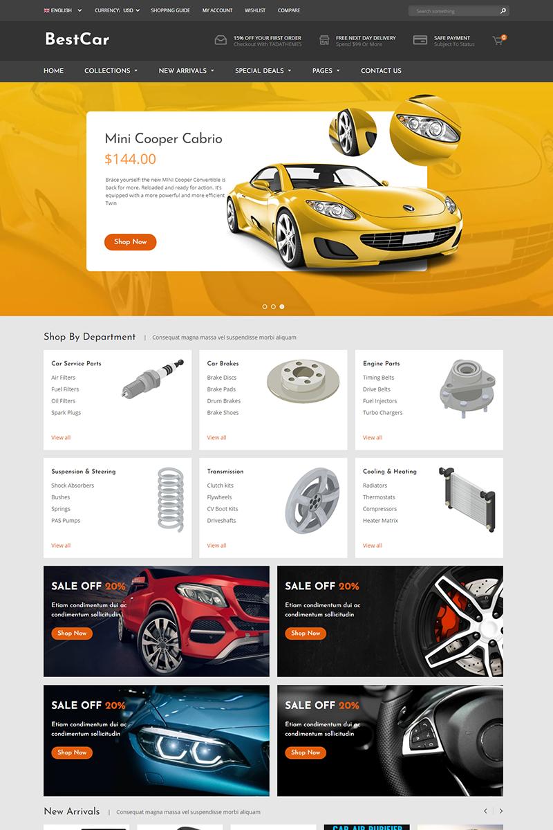 BestCar - Responsive for Car Accessories Shopify Theme - screenshot
