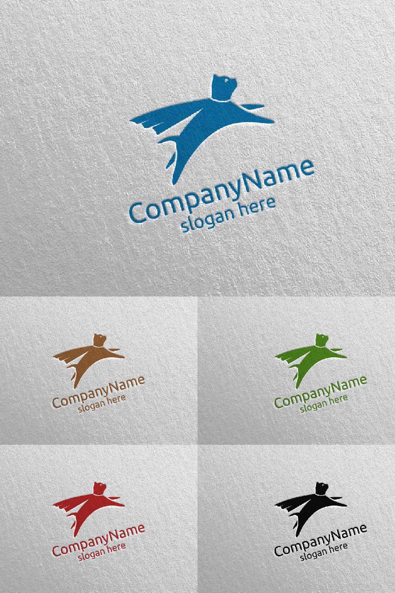 Cat for Pet Shop, Veterinary, or Cat Lover Concept 10 Logo Template - screenshot