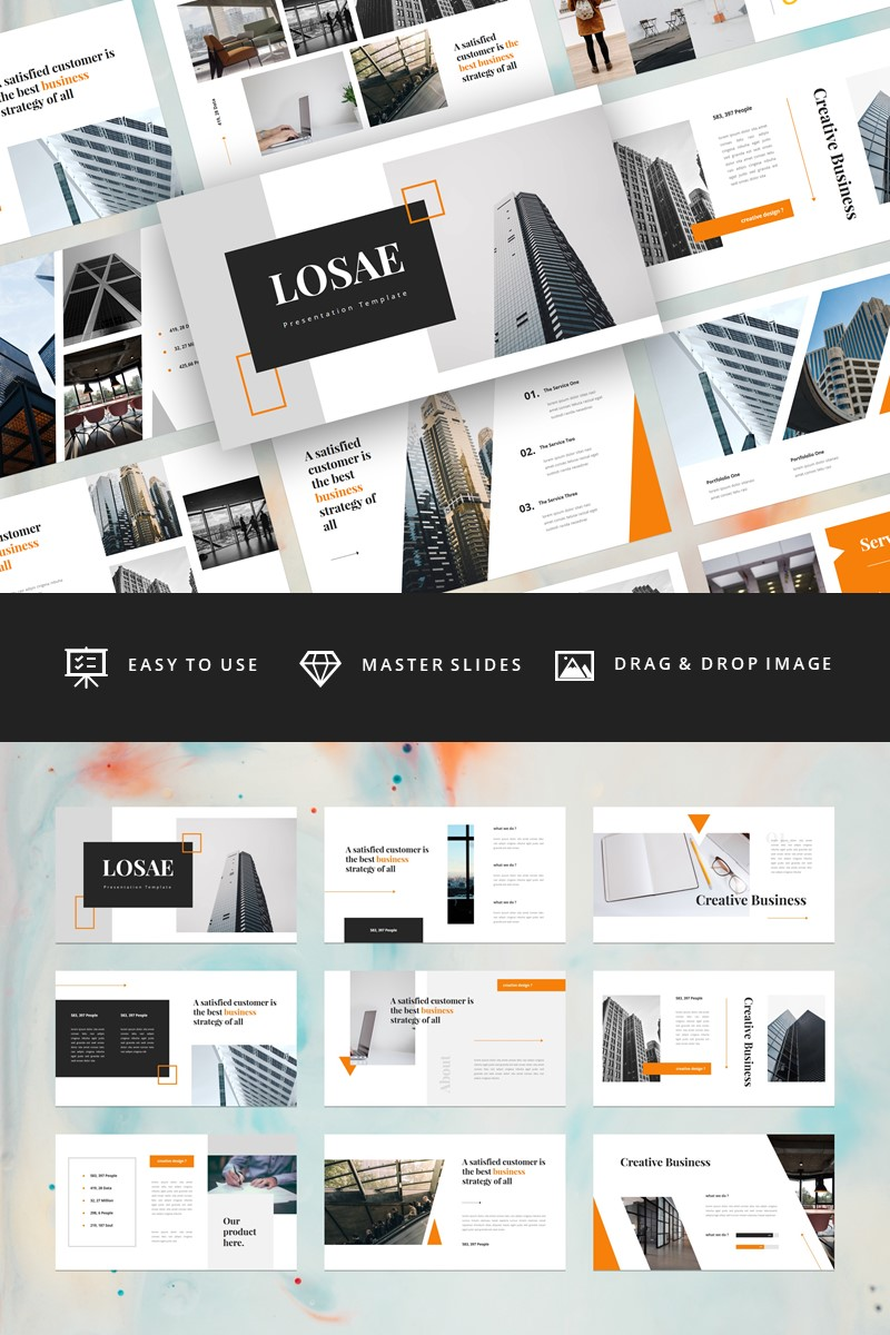 Losae - Business Keynote Template - screenshot