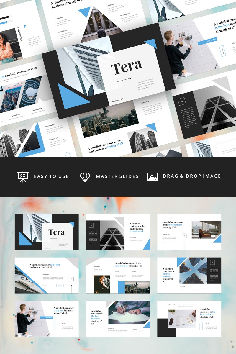Tera - Business Keynote Template - screenshot
