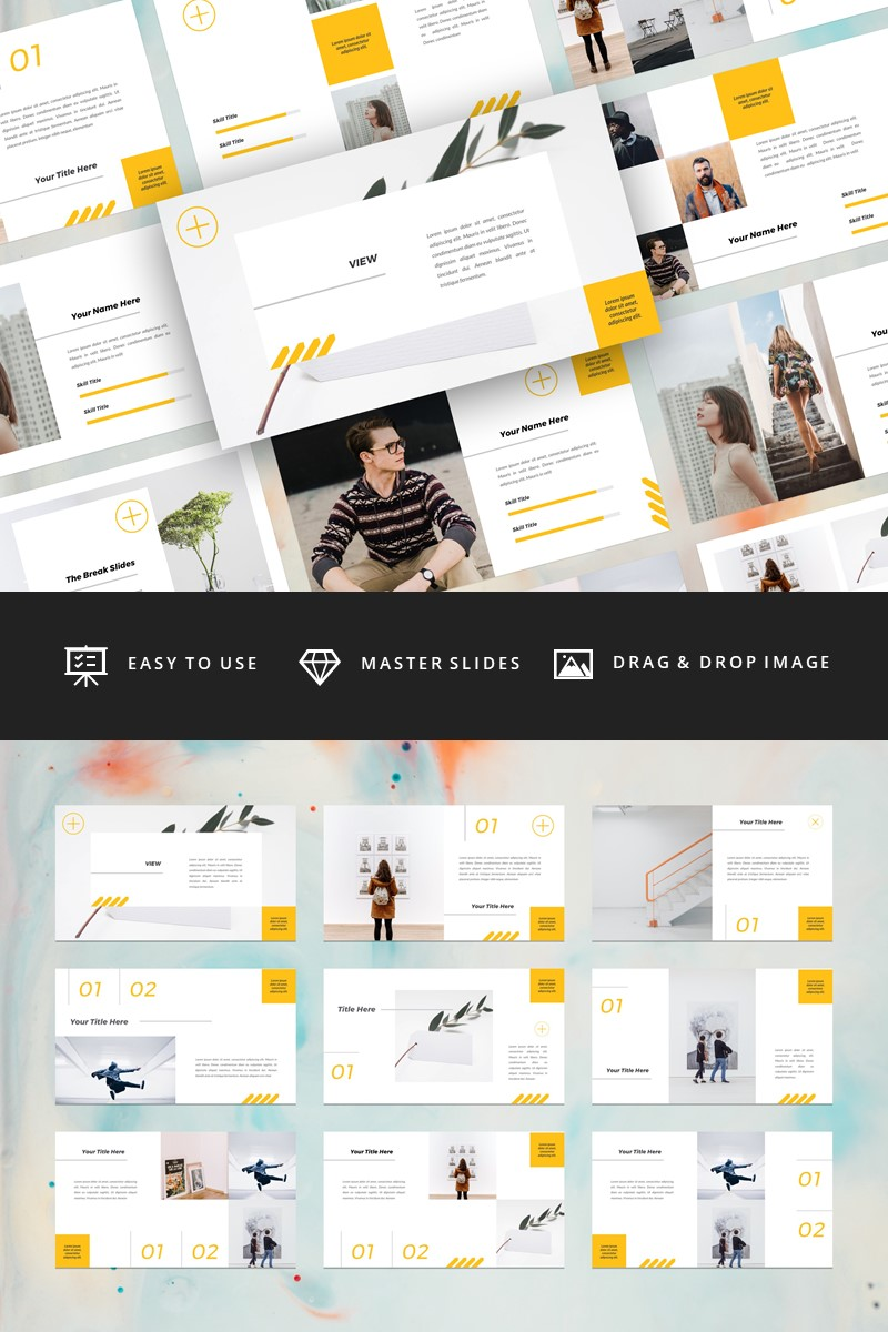 View - Creative Keynote Template