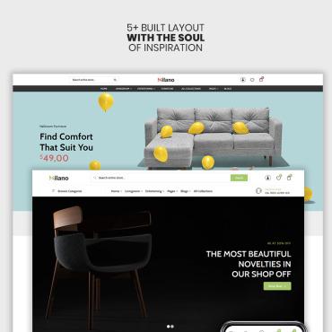 Купить  пофессиональные Shopify шаблоны. Купить шаблон #98410 и создать сайт.