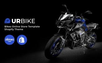 Urbike - Bikes Online Store Template Shopify Theme