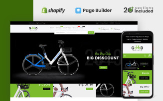 Good Bikes & Bicycle Store Shopify Theme