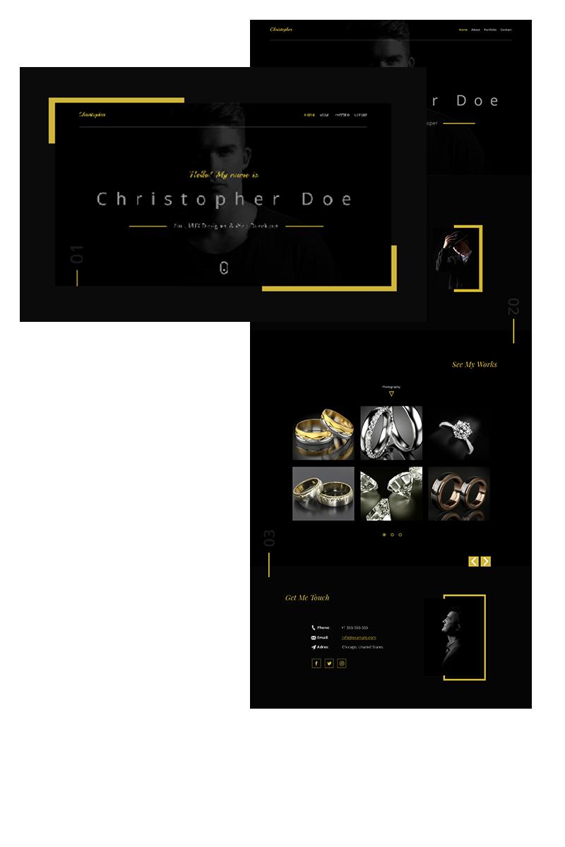 Chris-Black PSD Template