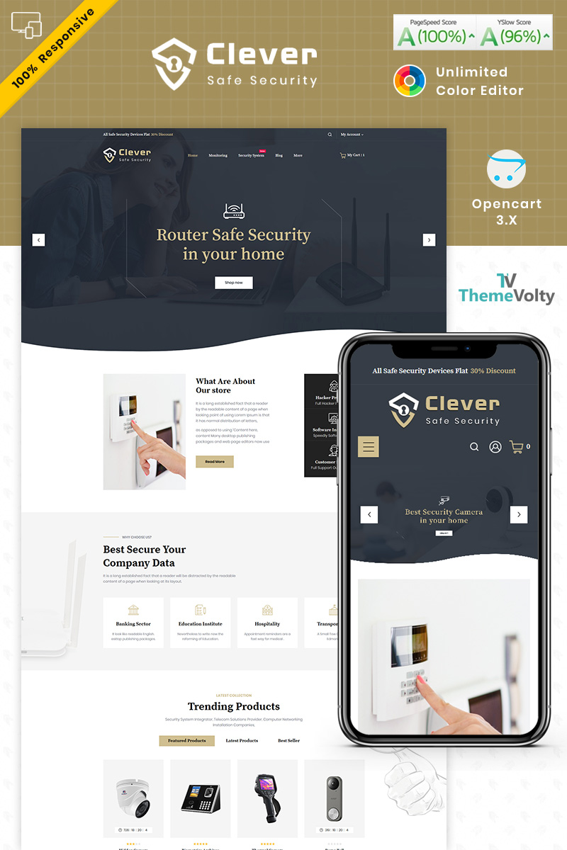 Clever Security Store №98484