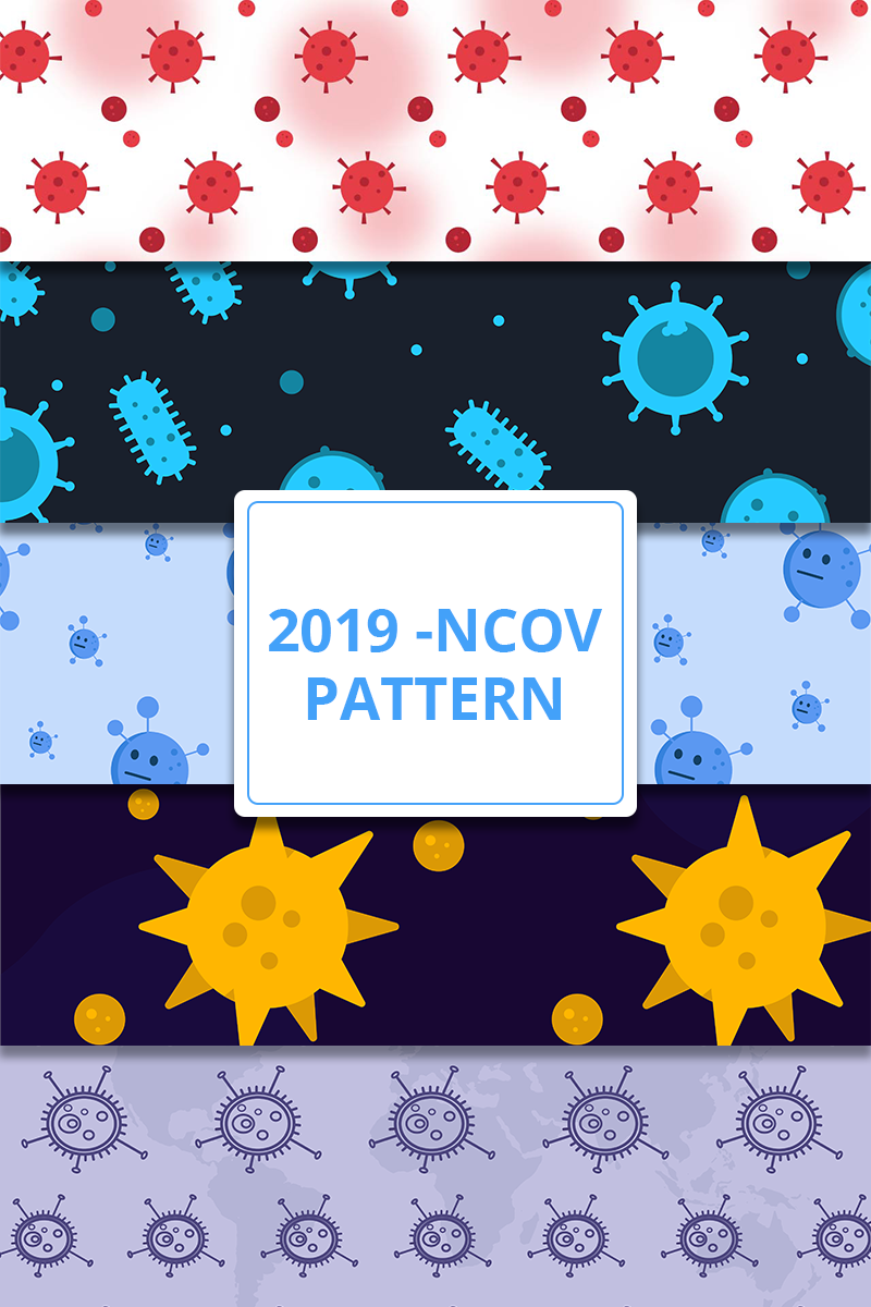 Free Fighting Coronavirus Patterns Pack Pattern