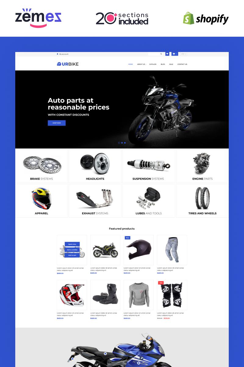 Reszponzív Urbike -  Bikes Online Store Template Shopify sablon 98418