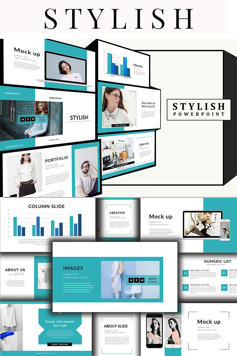 Style - Fashion PowerPoint Template