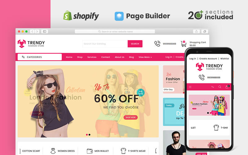 Trendy Fashion Store Shopify Theme