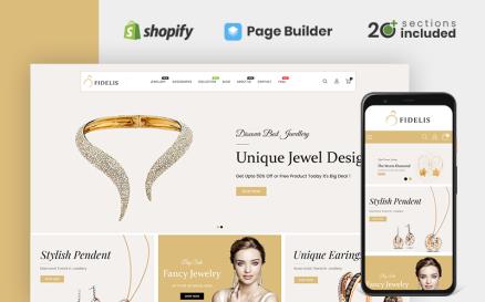 Fidelis Jewellery Store Shopify Theme