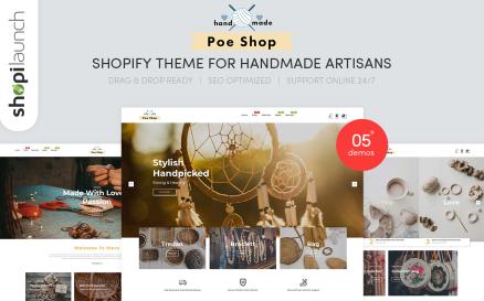PoeShop - Handmade Artisans Shopify Theme