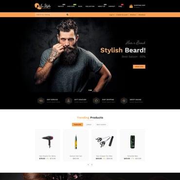 Купить  пофессиональные Shopify шаблоны. Купить шаблон #98594 и создать сайт.