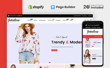 Fabulous Fashion Store Shopify Theme