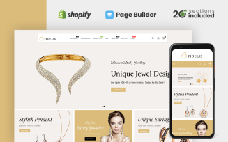Fidelis Jewellery Store Shopify Theme