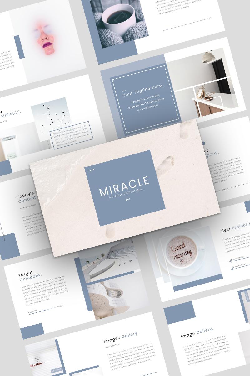 """Miracle Creative Business"" Keynote模板 #98676"