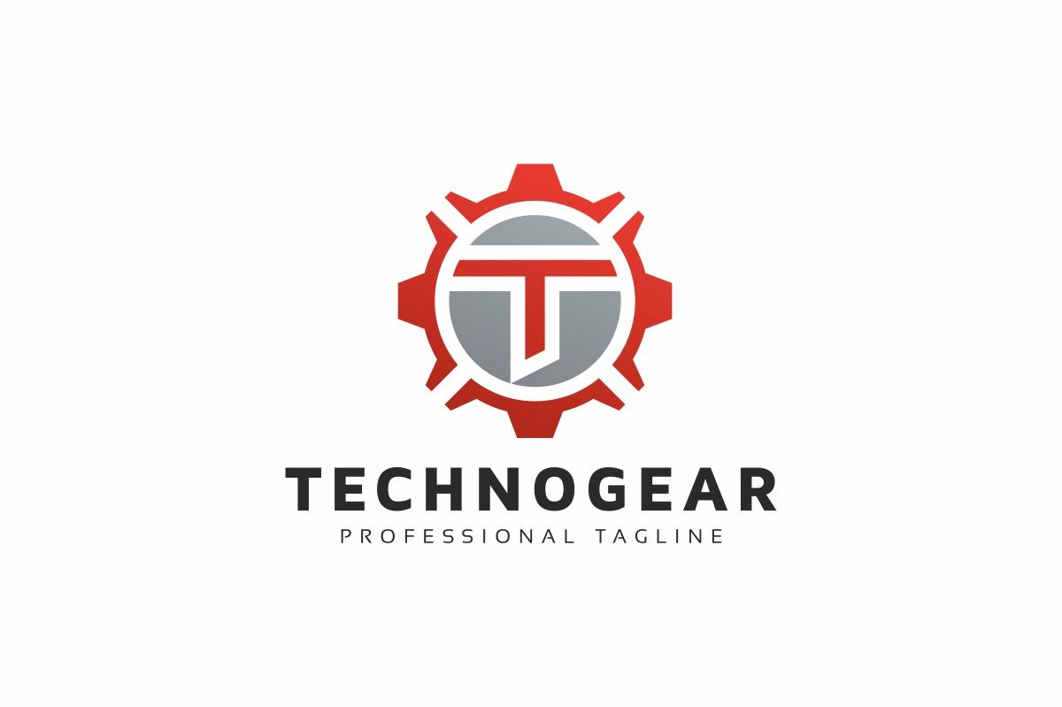 Technogear T Letter Logo Template - screenshot