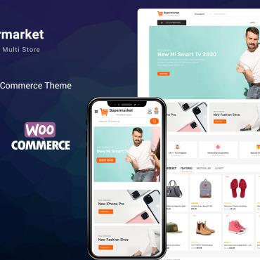 Купить  пофессиональные WooCommerce шаблоны. Купить шаблон #98741 и создать сайт.