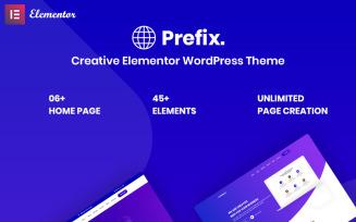Prefix - Creative Responsive WordPress Theme