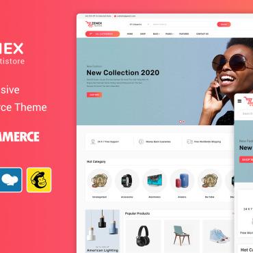 Купить  пофессиональные WooCommerce шаблоны. Купить шаблон #98747 и создать сайт.
