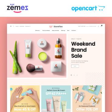 Купить  пофессиональные OpenCart шаблоны. Купить шаблон #98754 и создать сайт.