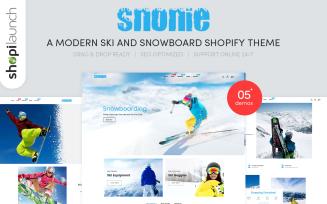 Snonie | A Modern Ski And Snowboard Shopify Theme
