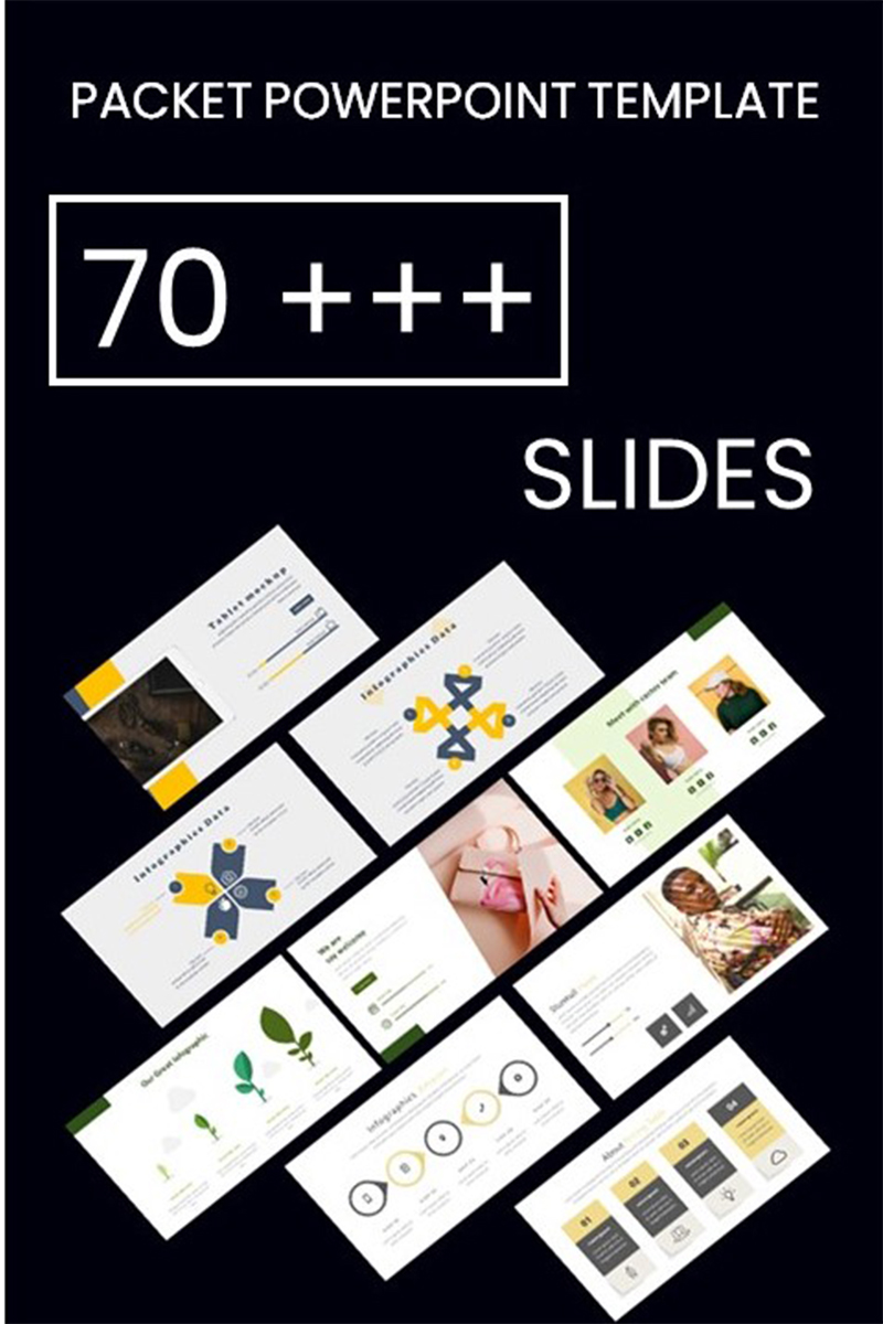 "Plantilla PowerPoint ""Pack Collection"" #98723"