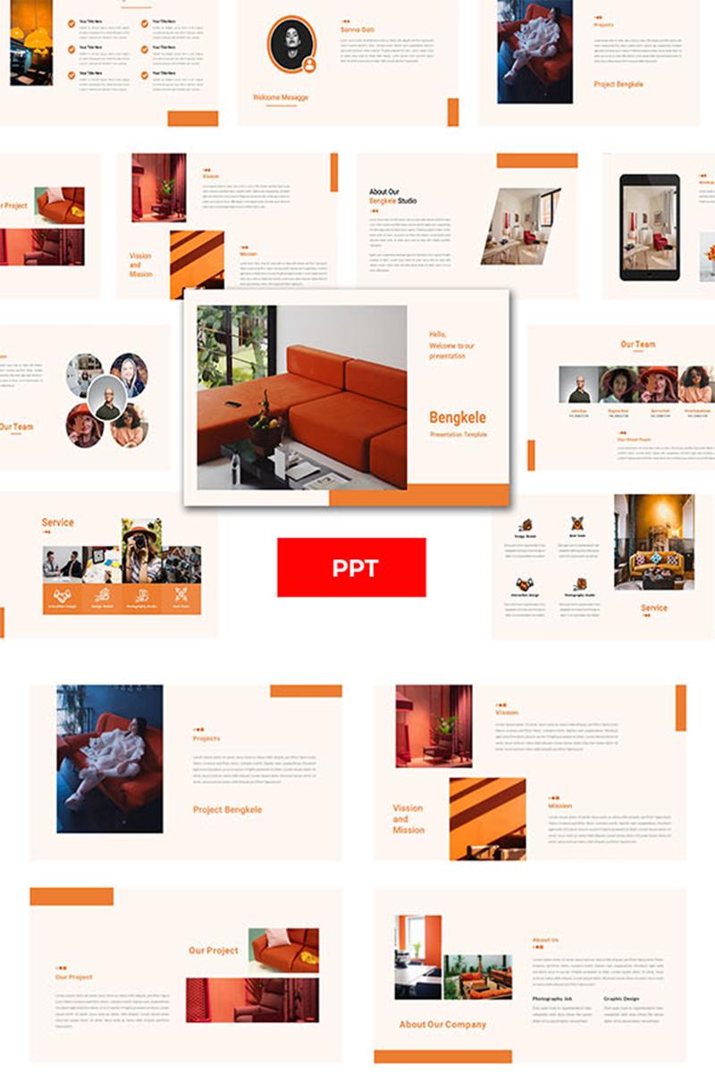 "PowerPoint Vorlage namens ""Bengkele - Creative Business"" #98757"