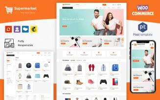 SuperMarket - Multipurpose Responsive WooCommerce Theme