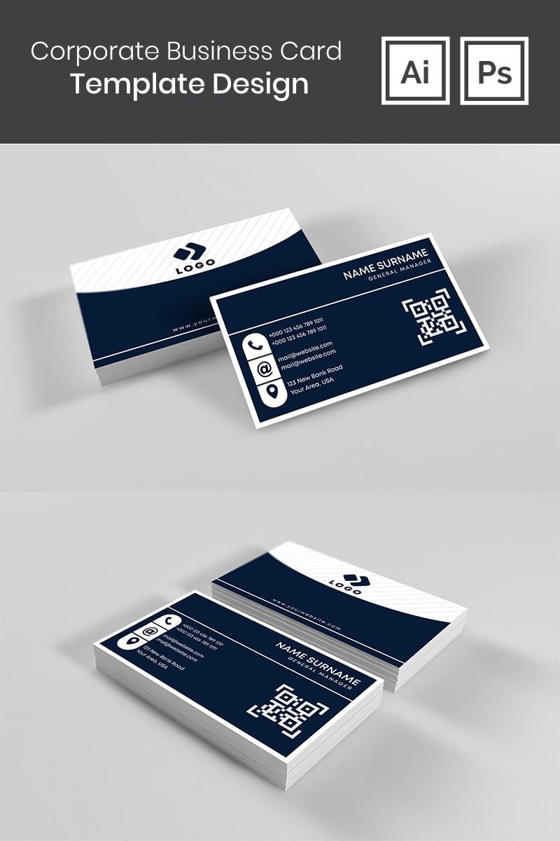 Szablon tożsamości korporacyjnej Business Card Design #98716 - zrzut ekranu