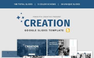 Creation - Creative & Elegant Business Google Slides Template