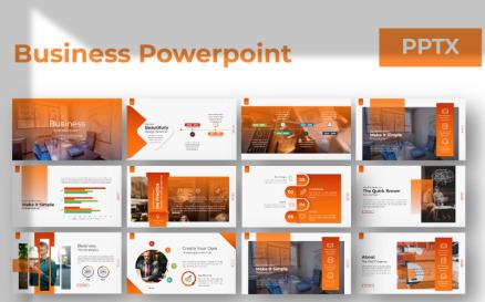 Business Presentation Google Slide