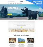 Сельское хозяйство. Шаблон сайта 98987