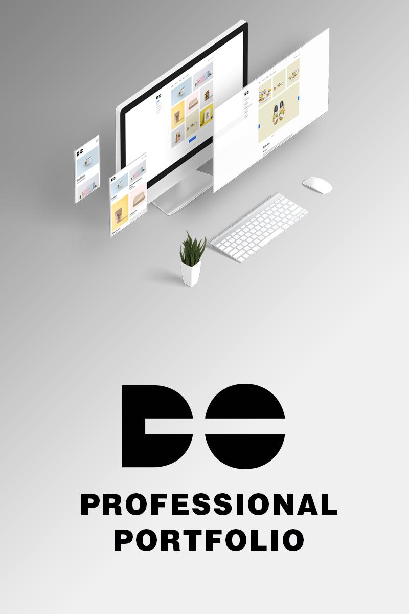 """""""Do - Clean minimal  portfolio HTML"""" 网页模板 #98969"""