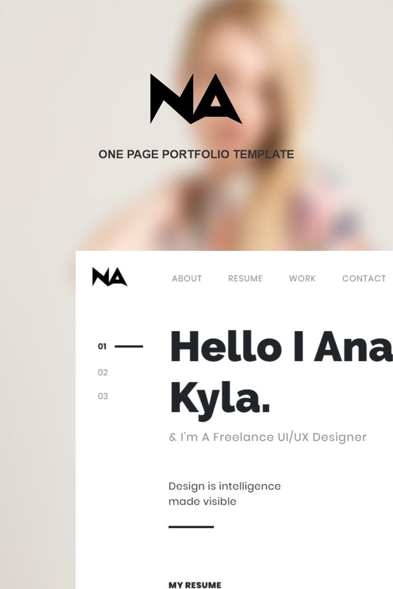 Na Landing Page Template