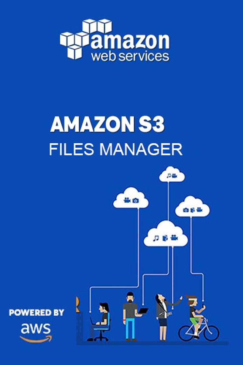 """Tema Plugin per WordPress #98934 """"AWS S3 Console for Amazon - File Uploader"""""""
