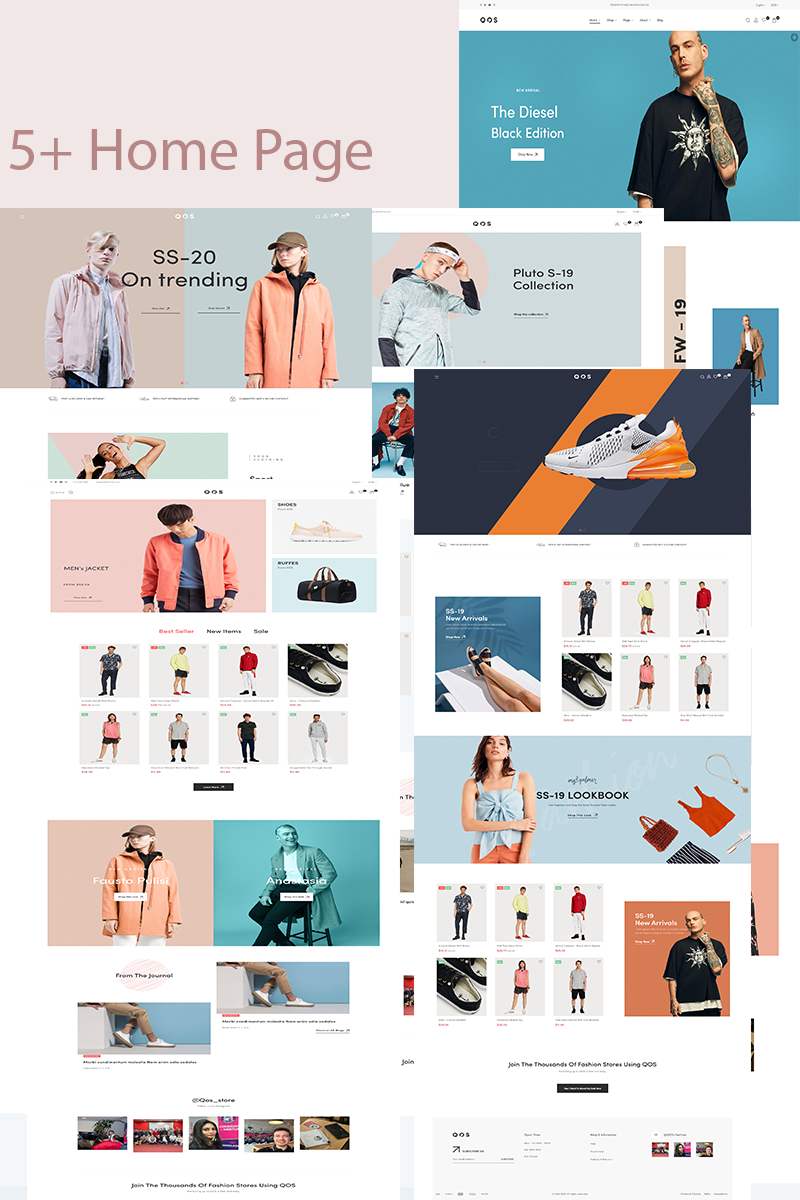 TMQOS PrestaShop Theme